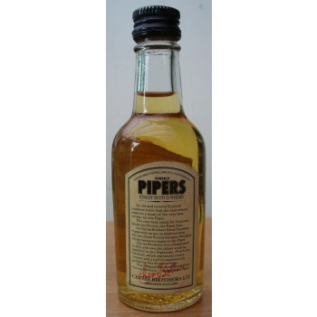 Hundred Pipers 70 Proof 4.73 cl Single Malt Whisky