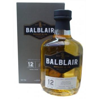 Balblair 12 Year Old Single Malt Whisky