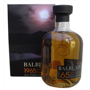 Balblair 1965 43 Year Old  Single Malt Whisky