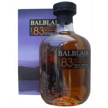 Balblair 1983 1st Release Malt Whisky