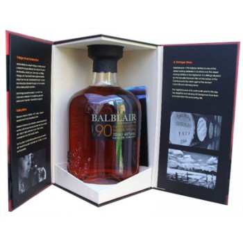 Balblair 1990 Second Release Single Malt Whisky
