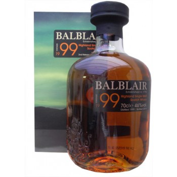 Balblair 1999 2nd Release Single Malt Whisky
