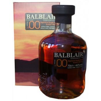 Balblair 2000 2nd Release Single Malt Whisky