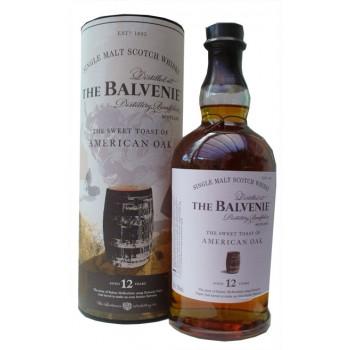 Balvenie 12 Year Old American Oak Single Malt Whisky