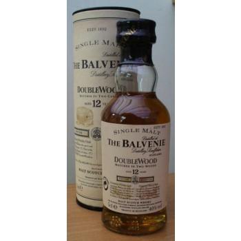 Balvenie 12 Year Old  Doublewood 5cl 1990s Bottling Single Malt Whisky