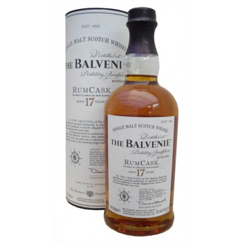Balvenie 17 Year Old Rum Cask 1st Edition Single Malt Whisky