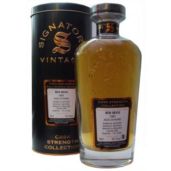 Ben Nevis 1991 24 Year Old Single Malt Whisky