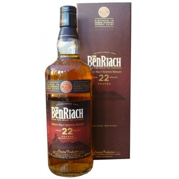 Benriach 22 Year Old Peated Pedro Ximinez Cask Finish 2nd Edition Single Malt Whisky