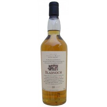Bladnoch 10 Year Old Flora And Fauna Single Malt Whisky