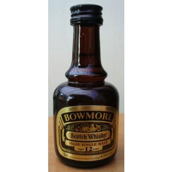 Bowmore 12 Year Old 5cl Dumpy Bottle Single Malt Whisky