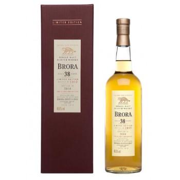 Brora 38 Year Old 2016 Release Single Malt Whisky