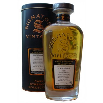 Caledonian 1987 29 Year Old Single Grain Whisky