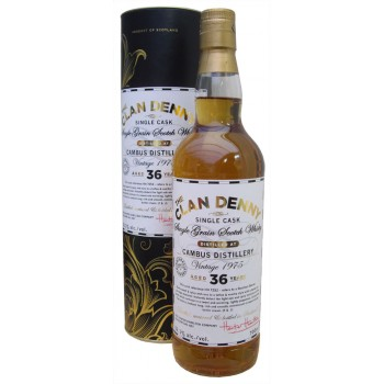 Cambus 1975 36 Year Old Single Grain Whisky
