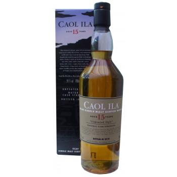 Caol Ila 15 Year Old Unpeated 2018 Limited Release Single Malt Whisky