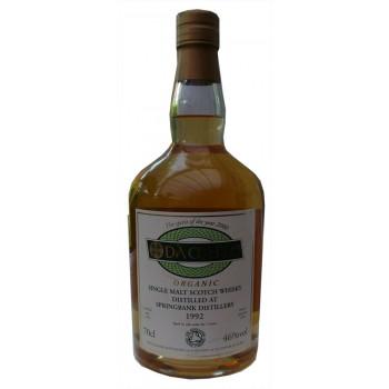 Springbank Da Mhile 1992 7 Year Old Organic Single Malt Whisky