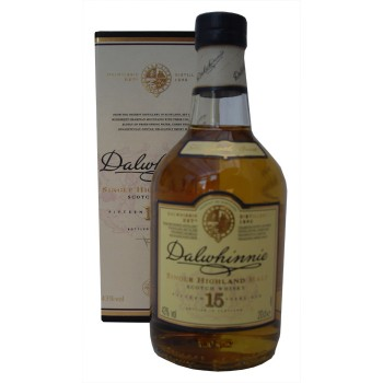 Dalwhinnie 15 Year Old 20cl Single Malt Whisky