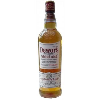 Dewars White Label Blended Whisky