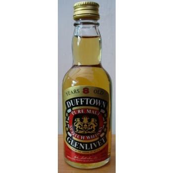 Dufftown Glenlivet 8 Year Old 5cl Single Malt Whisky