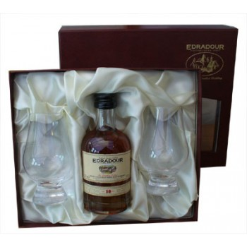 Edradour 10 Year Old 20cl Gift Set Single Malt Whisky