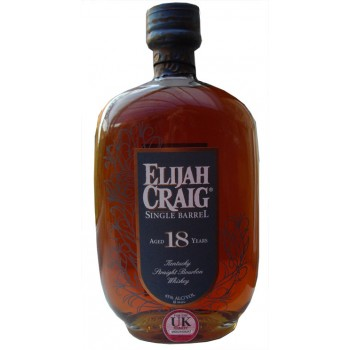 Elijah Craig 18 Year Old Single Barrel Straight Bourbon
