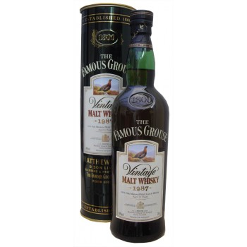 Famous Grouse 1987 12 Year Old Malt Whisky