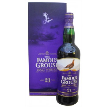 Famous Grouse 21 Year Old Whisky