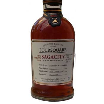 Foursquare Sagacity Barbados Exeptional Cask Selection 12Years Old Mark X1