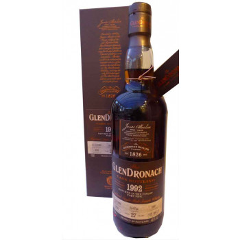 Glendronach 1992 27 Year Old Single Cask Batch 18 2021 Release