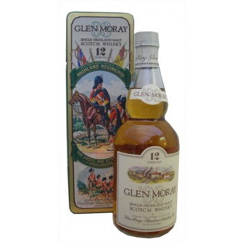 Glen Moray 12 Year Old Argyll And Sutherland Highlanders Single Malt Whisky