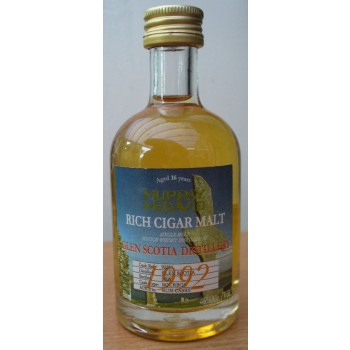 Glen Scotia 1992 50 ml Rich Cigar Malt Single Malt Whisky