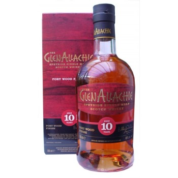 Glenallachie 10 Year Old Port Finish Single Malt Whisky