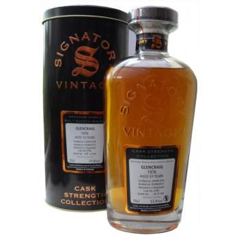 Glencraig 1976 33 Year Old Single Malt Whisky