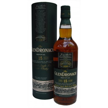 Glendronach 15 Year Old Single Malt Whisky