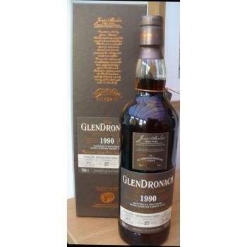 Glendronach1990 27 Year Old Single Malt Whisky