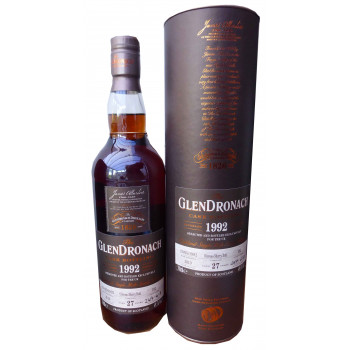 Glendronach 27 Year Old 1992 Single Cask UK only release
