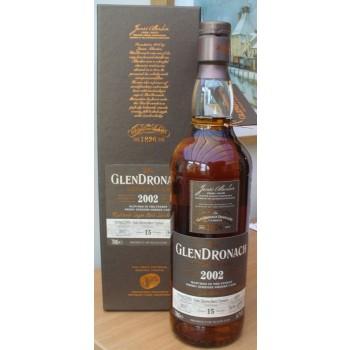 Glendronach 2002 15 Year Old Single Malt Whisky