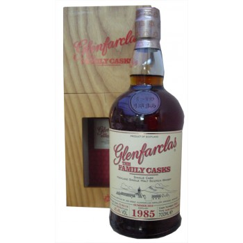 Glenfarclas 1985 Family cask Single Malt Whisky