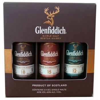 Glenfiddich Miniature Gift Pack