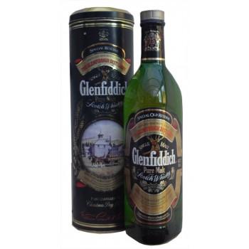 Glenfiddich Pure Malt Old Rare Round Tin Single Malt Whisky