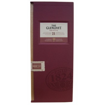 Glenlivet 21 Year Old 'Archive' Single Malt Whisky