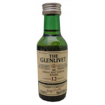 Glenlivet 12 Year Old 5cl