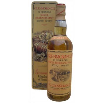 Glenmorangie 10 Year Old Cooper Tin Single Malt Whisky