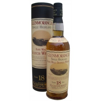 Glenmorangie 18 Year Old Tubed Single Malt Whisky
