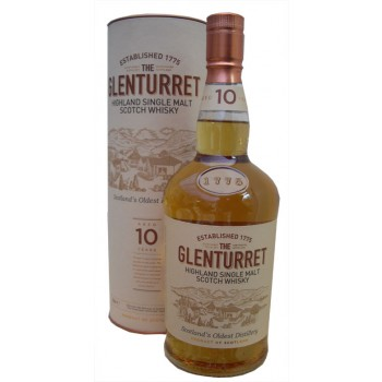 Glenturret 10 Year Old Single Malt Whisky