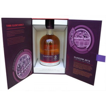 Glenturret 1986 Malt Whisky Glasgow 2014 Limited Edition