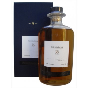Glenury Royal 1970 36 Year Old Single Malt Whisky