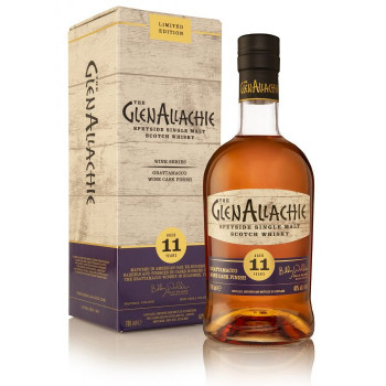 Glenallachie 11 Year Old Grattamaco Wine Cask Finish Single Malt Whisky