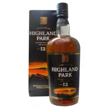 Highland Park 12 Year Old Sunset Over Hoy Box Single Malt Whisky