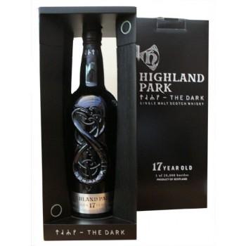 Highland Park 17 Year Old The Dark Single Malt Whisky