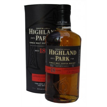 Highland Park 18 Year Old Single Malt Whisky